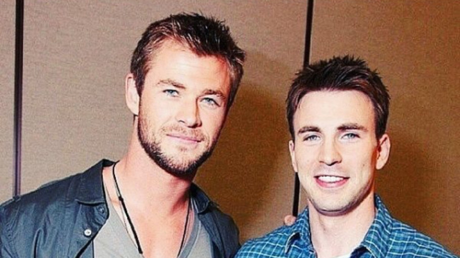 Aksi Kocak Chris Hemsworth di Ulang Tahun Chris Evans