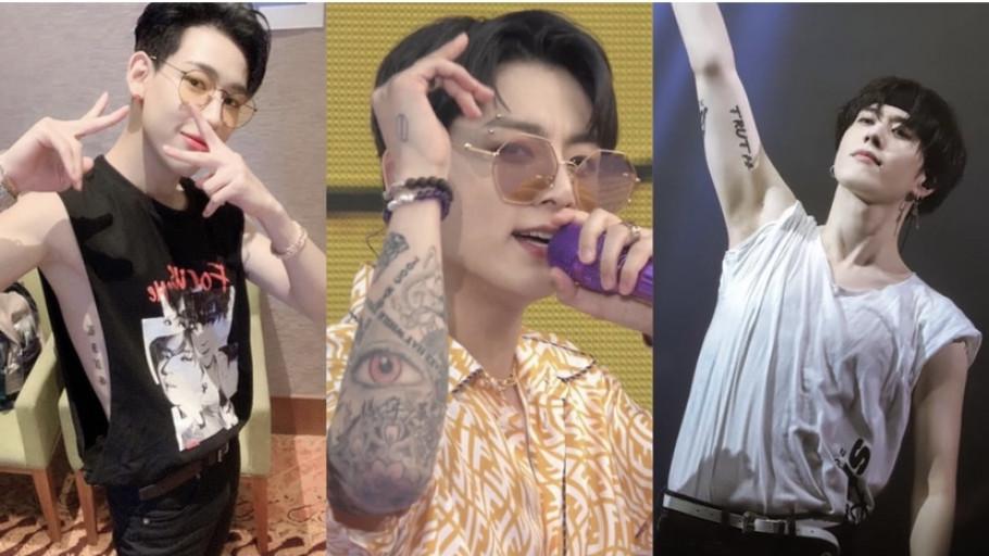 Terungkap Arti Tato Jungkook BTS, Yugyeom, BamBam, dan Mark GOT7