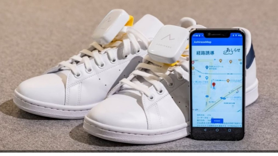 Honda Ciptakan 'Ashirase' Sepatu Navigasi untuk Tunanetra