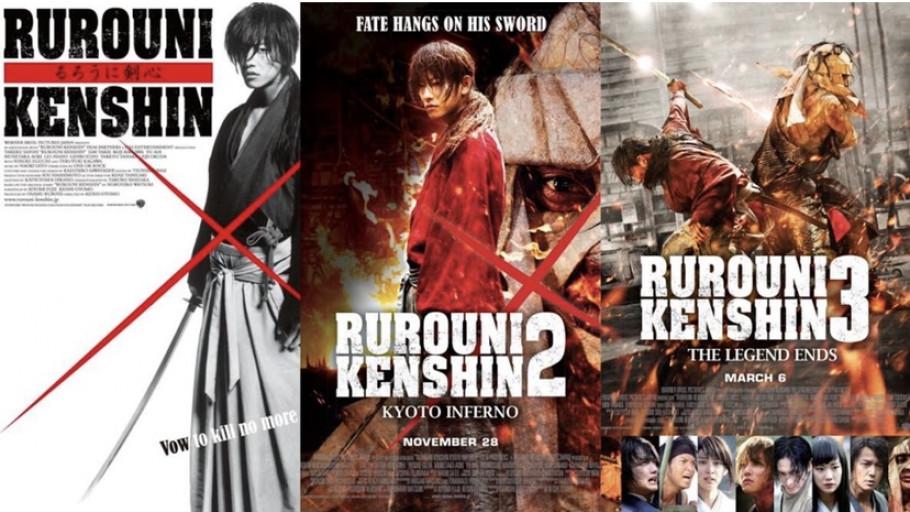 Urutan Nonton 5 Film Rurouni Kenshin Live Action Sampai Tamat