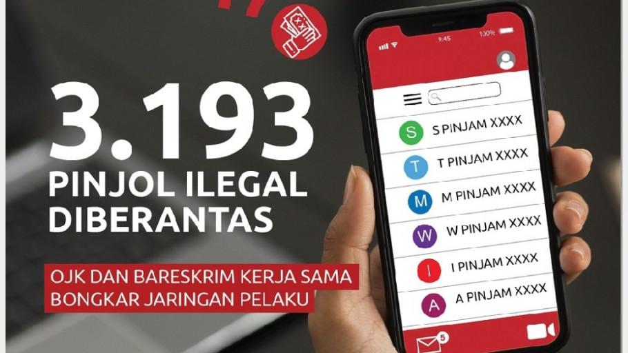 3.193 Pinjaman Online Diblokir, Ini Cara Cek Legalitasnya di OJK
