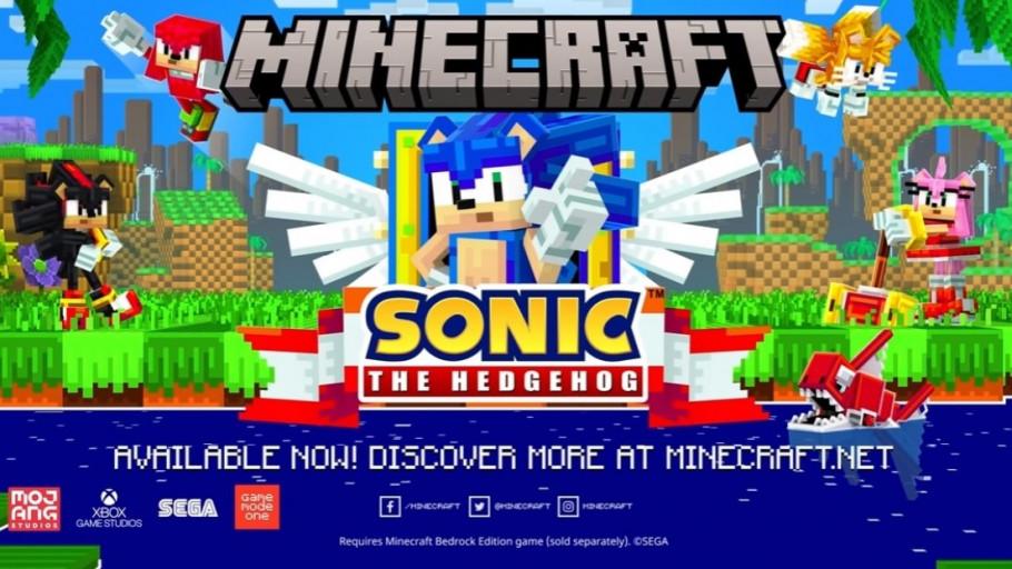 Minecraft Sonic the Hedgehog Rilis Tahun 2022