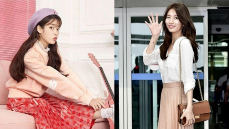 Ide Mix and Match Rok Plisket Ala Artis Korea, Cocok Untuk Hijabers