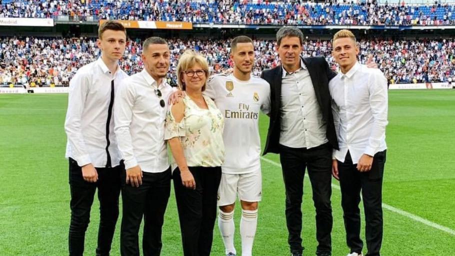 10 Potret Kompak Eden Hazard dan Tiga Adiknya, Pemain Timnas Belgia