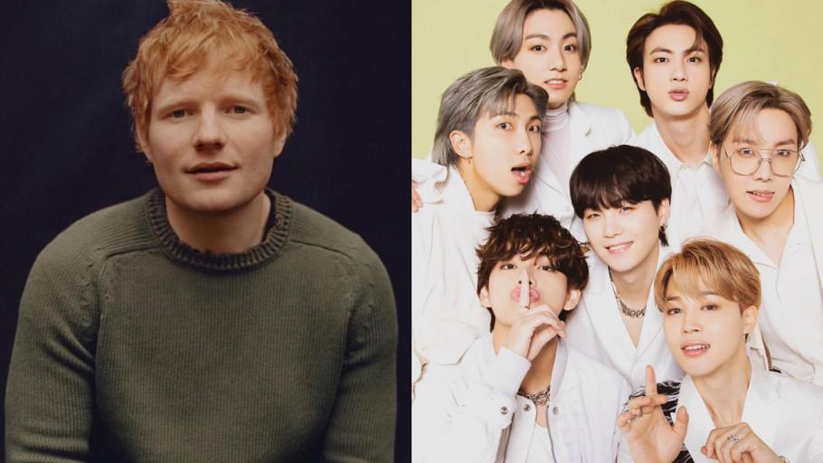 Ed Sheeran Beri Bocoran Lagu Permission To Dance Milik BTS