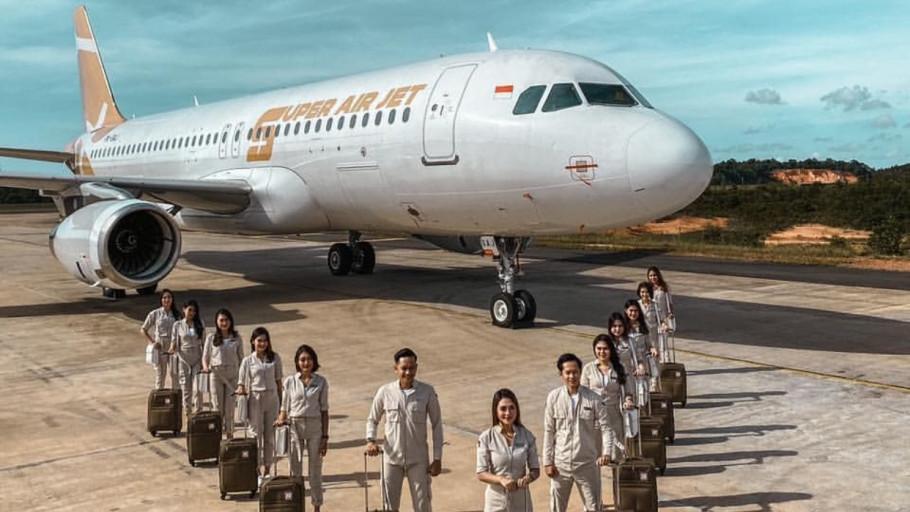 5 Fakta Super Air Jet Maskapai Milenial, Ini Tarif dan Rutenya