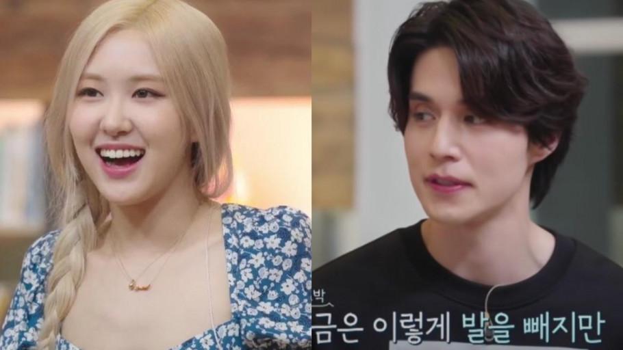 Heboh Interaksi Rose Blackpink dan Lee Dong Wook di Sea of Hope