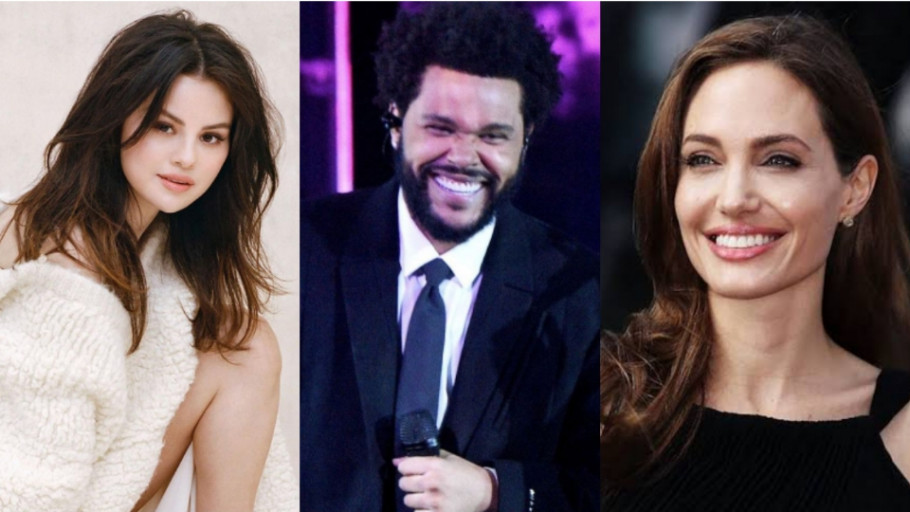 5 Artis Cantik Dekat sama The Weeknd, Terbaru Angelina Jolie