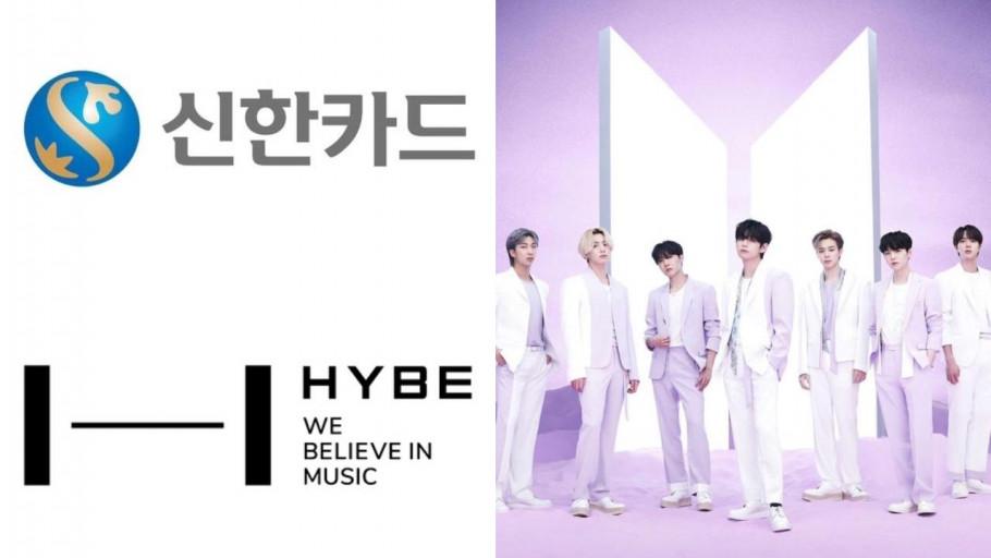 HYBE dan Shinhan Card Luncurkan Kartu Kredit BTS Card