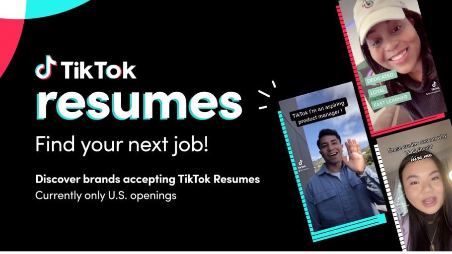 Cara Menggunakan TikTok Resumes, Untuk Mencari Lowongan Pekerjaan