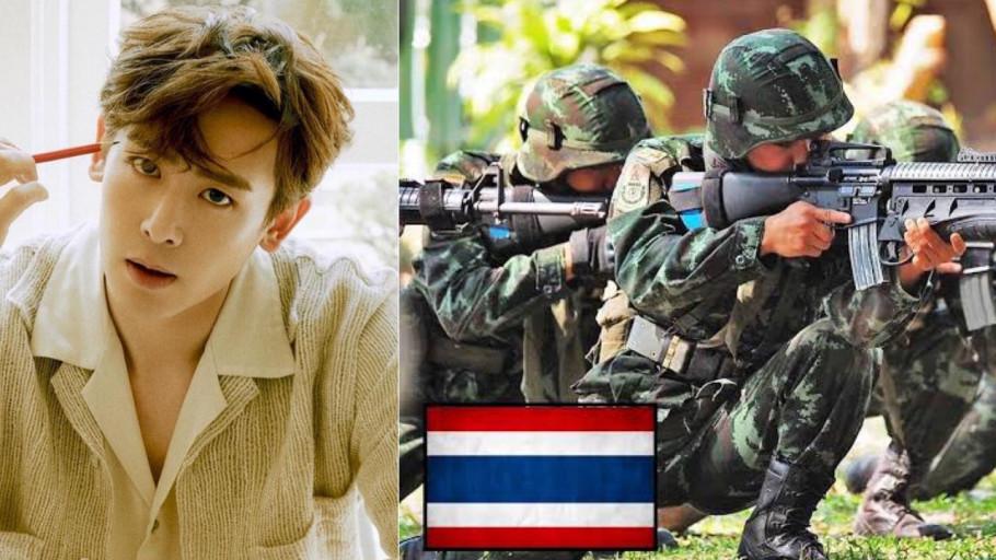 Sistem Wajib Militer Thailand, Nichkhun 2PM Hampir Direkrut