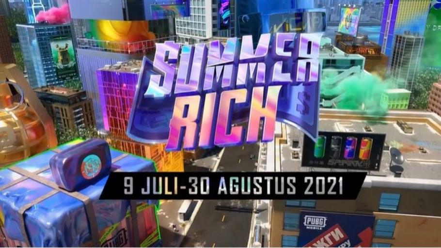Cata Ikutan PUBG Mobile Summer Rich 2021, Total Hadiah Rp2 M