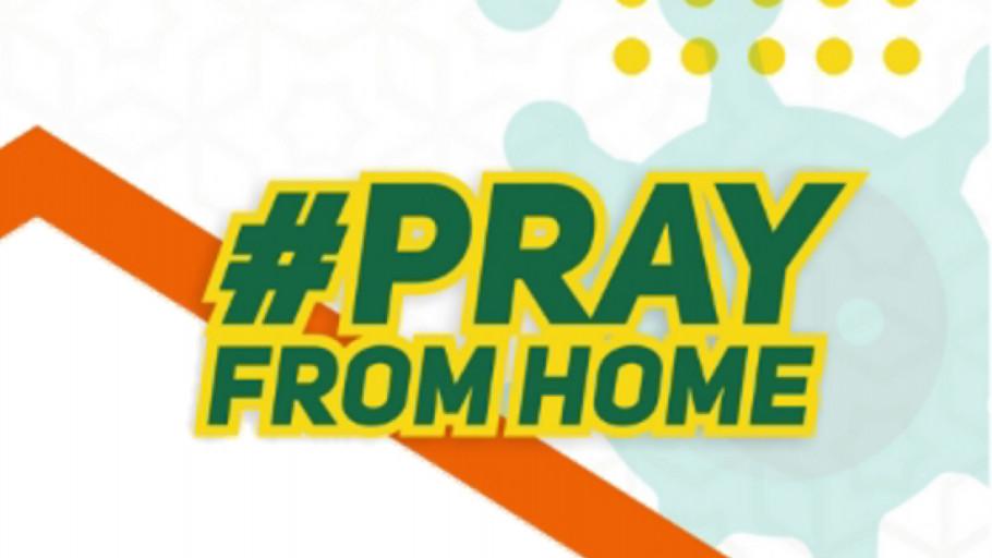 Kumpulan Link Twibbon Pray From Home dan Cara Memasangnya