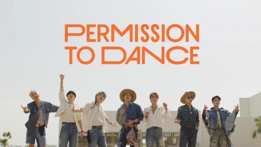 7 Fakta Tersembunyi di MV Lagu Permission to Dance Milik BTS