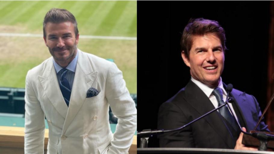 Momen David Beckham dan Tom Cruise Dukung Inggris di Final Euro 2020