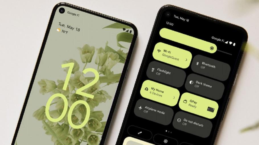 Arti Tanda Petir di Android 12 saat Install Game