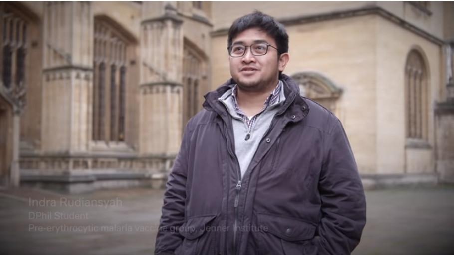 Indra Rudiansyah, Mahasiswa Indonesia di Balik Vaksin AstraZeneca