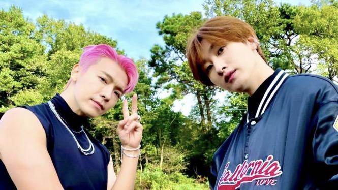 Donghae dan Eunhyuk Super Junior
