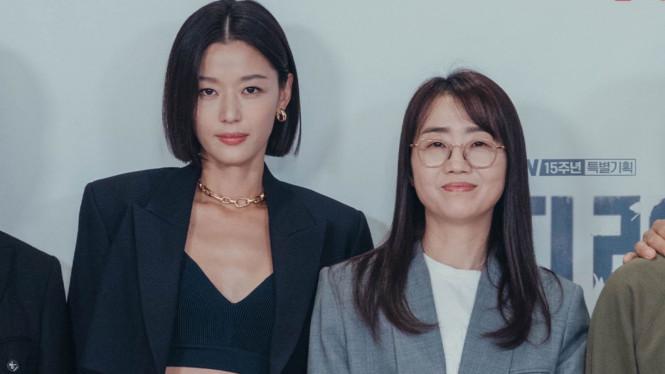 Jun Ji Hyun dan Kim Eun Hee